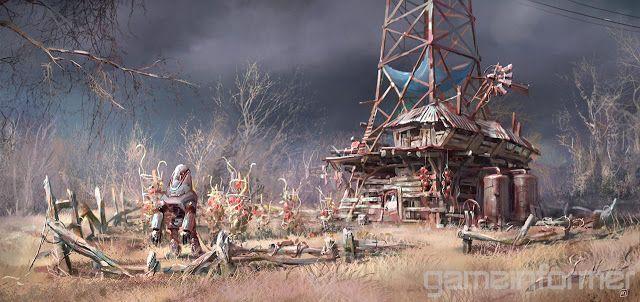 Ilya Nazarov - Concept Artist - Blog: Fallout 4 Concept Art