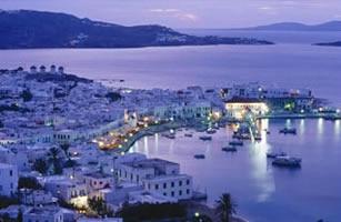 Mykonos, Greece:  Honeymoon