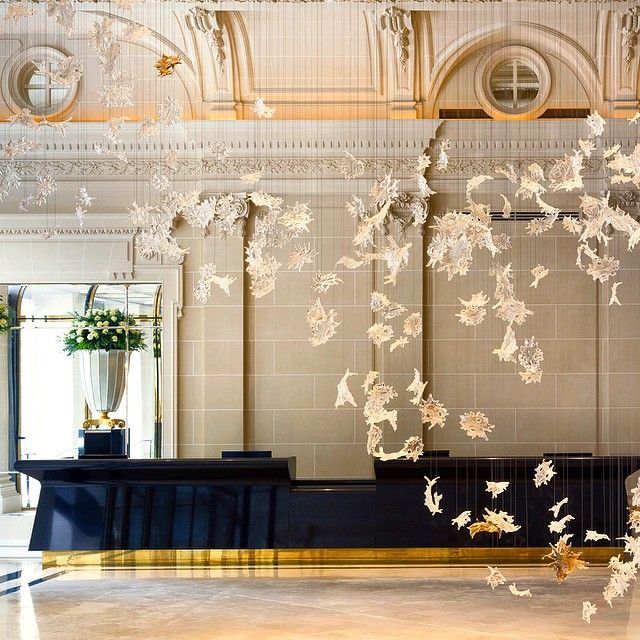 """The Peninsula Paris is located in a late 19th century classic Haussmanian building, which first opened as one of Paris's most luxurious ""grands hotels""…"""