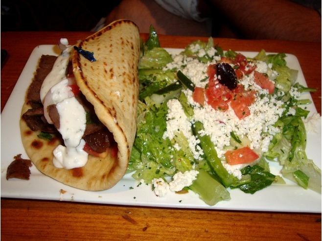 Greek food!! Yum.