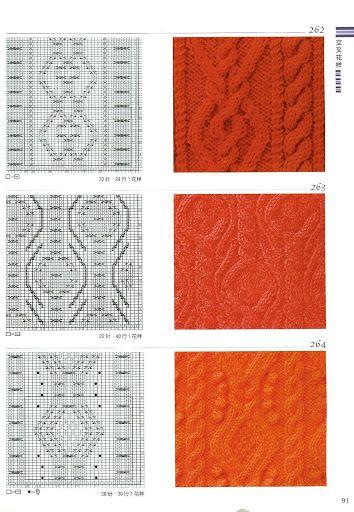 Knitting Stitch Patterns Book : Knitting patterns book 300 - Ewa P - Picasa Web Albums ????? Pinterest ...