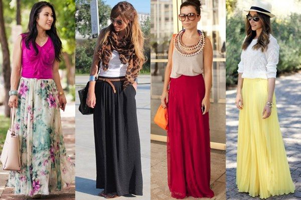 Long Skirts - An Often Overlooked Fashion Staple