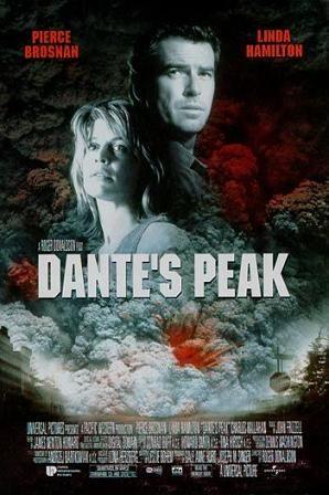 Dantes peak: Ohne Warnung, der Tag wird zur Nacht. Luft wird zu Feuer und die harte Erde wird zu einer weißglühenden, geschmolzenen Fläche. Halt' Dich fest bei den aktiongepackten, erdbebenartigen Überraschungen und was immer Du tust, sieh nicht zurück!