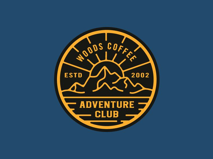 Adventure Club - Hat Patch by Andrew Berkemeyer #Design Popular #Dribbble #shots