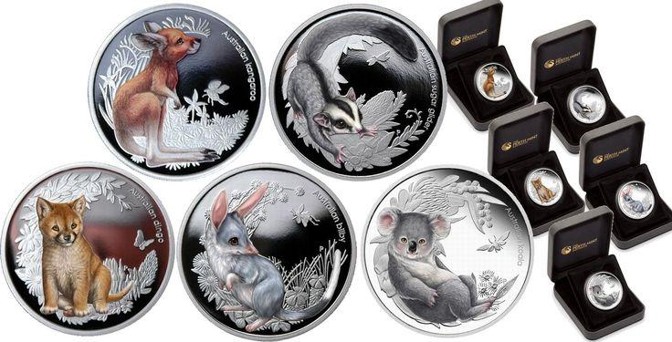 Bush Babies Set of Coins
