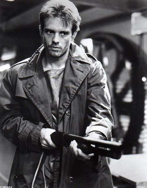 Michael Biehn as Kyle Reese in the first Terminator-film