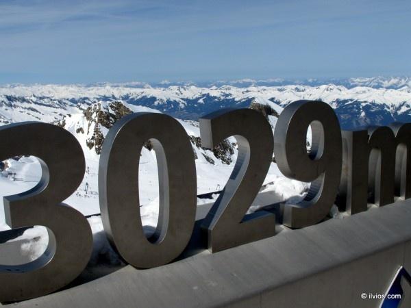 Tops of Alps - Kaprun, Austria.