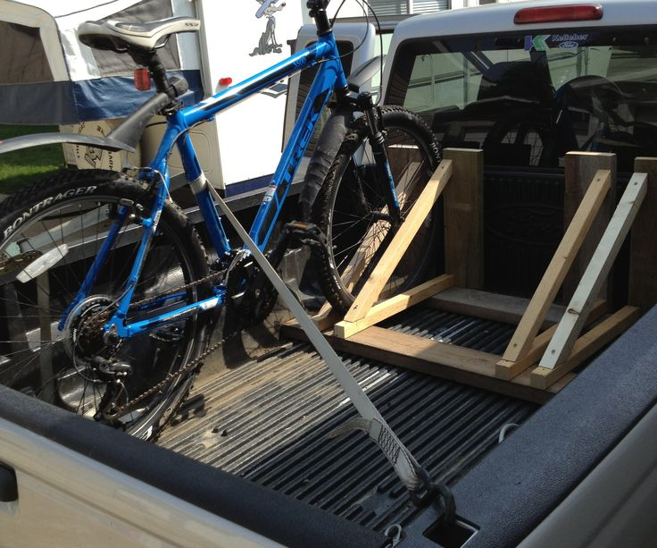 best 25 truck bed bike rack ideas on pinterest. Black Bedroom Furniture Sets. Home Design Ideas