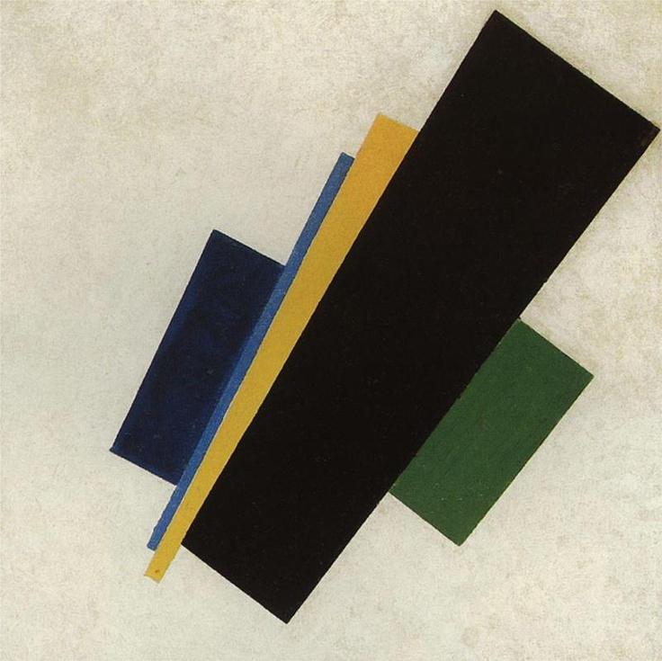 Suprematism, 1915  Kazimir Malevich