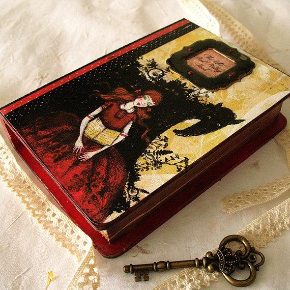 Book imitation Box  The Little Red Riding Hood by Minasmoke, $30,20
