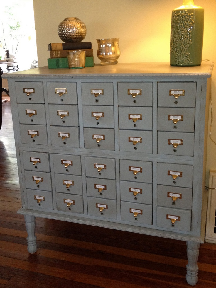 23 best Library Card Catalog Leg Ideas images on Pinterest ...