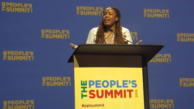 America Must Embrace Diversity As Fulfillment of Immigrant Nation - Executive Director of Demos, Heather McGhee, delivers keynote address at the Peoples Summit in Chicago, Illinois [6/19/2016]