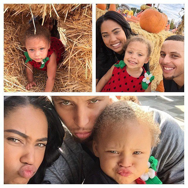 Further Proof That Riley Is the Real Star of the Curry Family