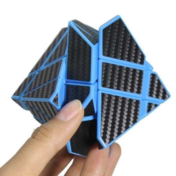 Cubo Rubik Fangcun Ghost Cobra Base Azul, Lubricado