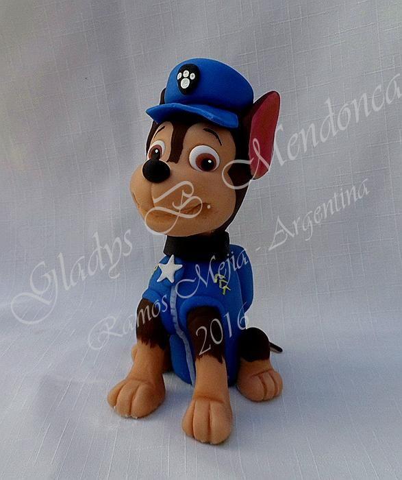 patrulla canina - porcelana fria