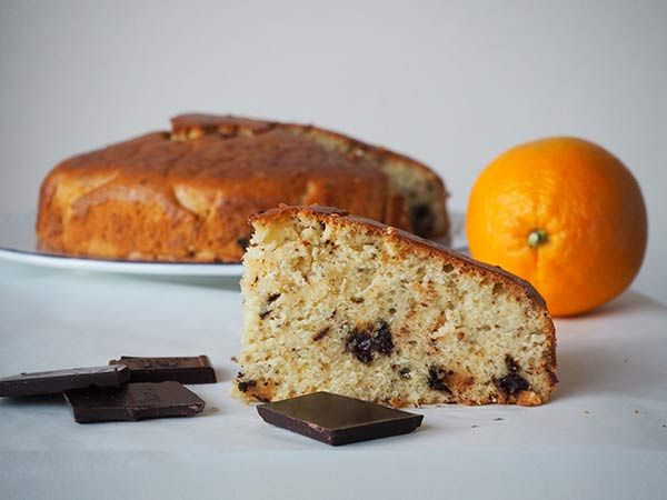 Receta queque de naranja vegano