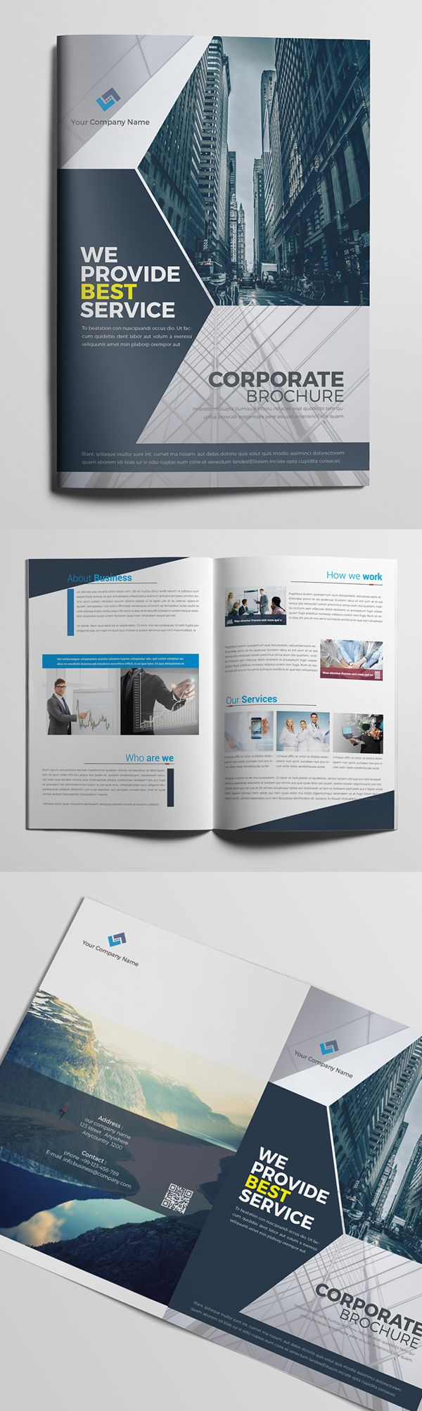 Corporate Brochure / Catalog Design                              …