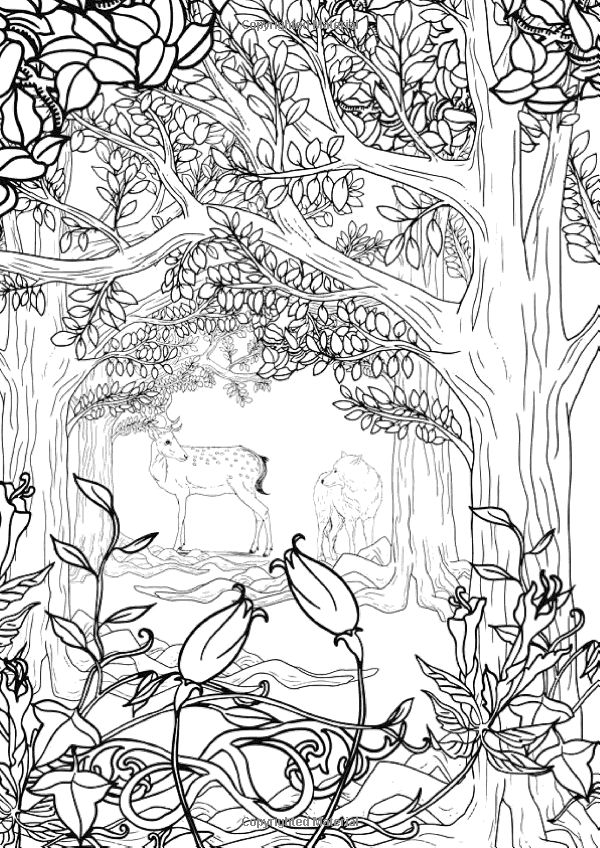 299 best Colorir arvores images on Pinterest Coloring books - fresh coloring pages for nature