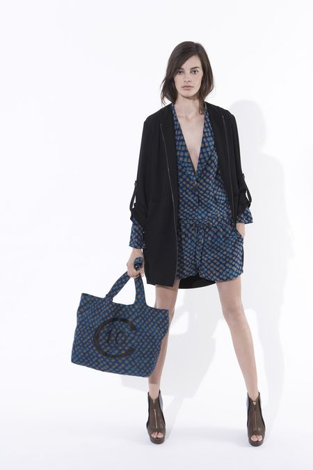 #10crosbydereklam #plussize flattering. loose ditzy printed romper inside and swap this jacket for a structured black one. So now you know a must have, a hip length structured black jacket.