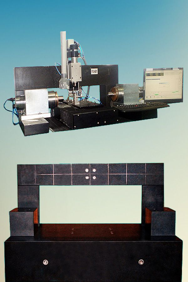 GRANITE BASE AND STRUCTURE FOR LENS GRINDING MACHINE
