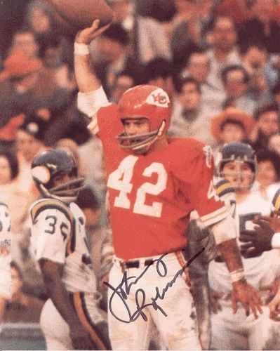 Johnny Robinson chiefs football cards | Johnny Robinson autographed 8x10 Photo (Kansas City Chiefs)