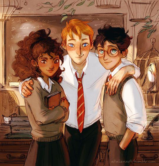 HP Trio by Natello's Art