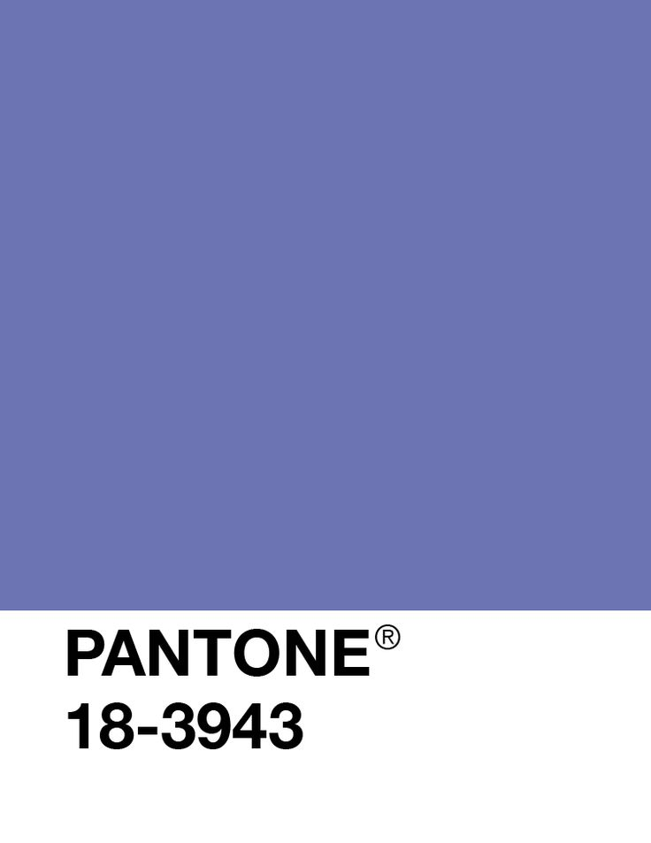 Image detail for Pantone 's Blue Iris 18-3943 was the 2008 Color of the Year.