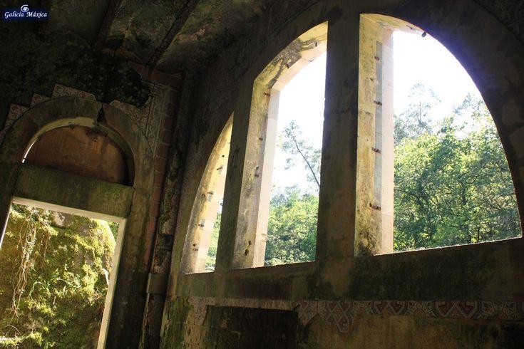 Información sobre el abandonado balneario del Lérez, en Monte Porreiro, Pontevedra.
