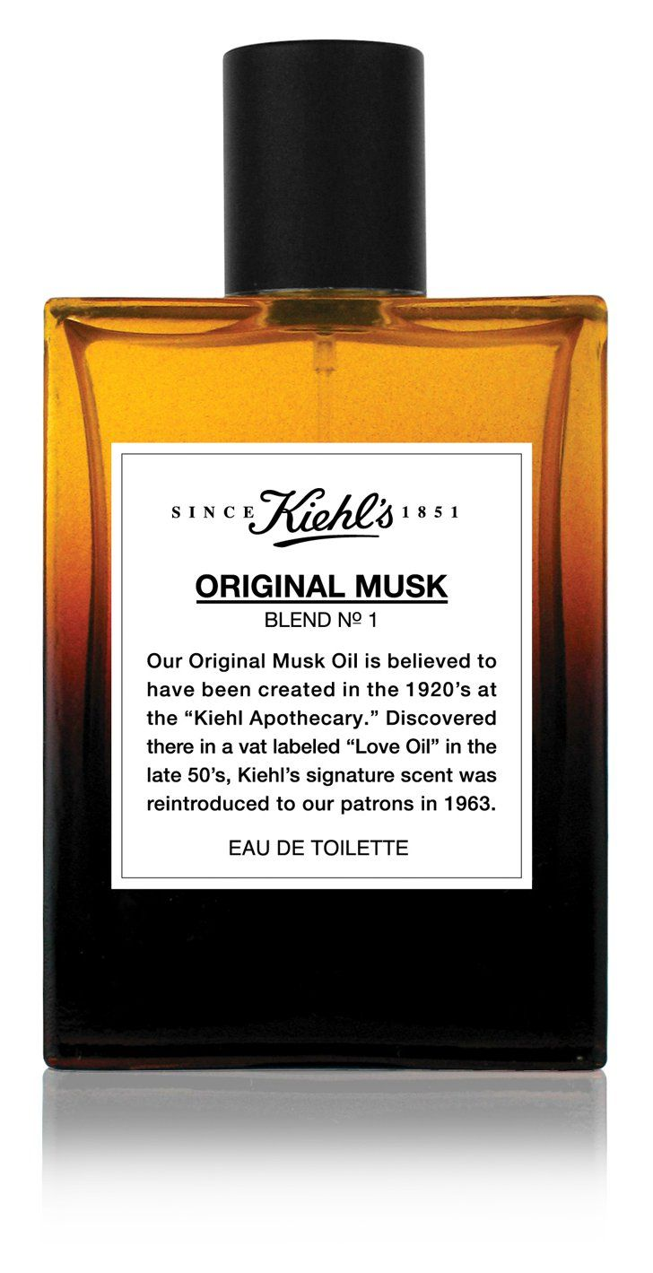 Pin for Later: 12 Intoxicating Unisex Fragrances That Make a Strong Case For Sharing Kiehl's Original Musk The scent: Kiehl's Original Musk ($42) The notes: Citrus, lily, and, of course, musk. Smells like: A candlelit dinner at home.