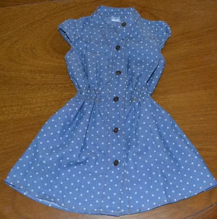 vestido finito guimel lunares 2-8 años little treasure
