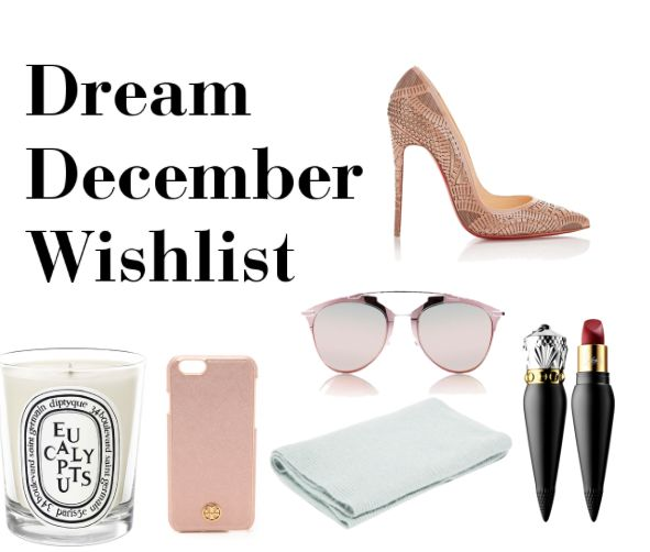 The Dream December Wishlist
