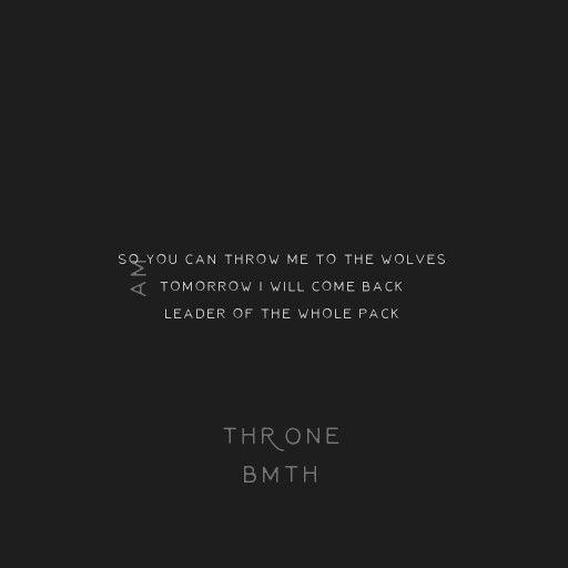 Bring me the horizon-throne