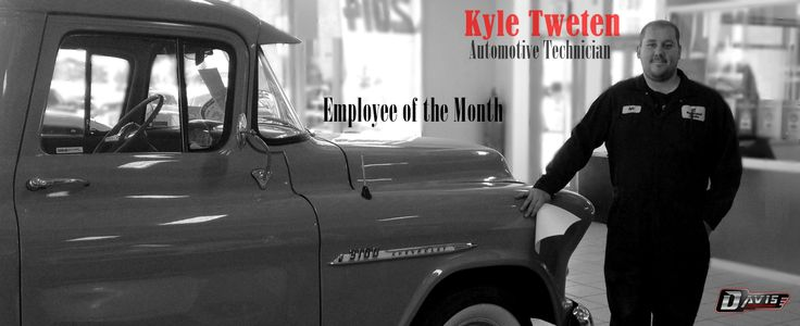 Davis Chevrolet GMC Buick Dealer | Airdrie Chevrolet GMC | GMC Dealership Calgary Kyle Tweeten Feb employee of the month