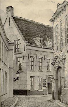 Jan Strube kennen de meeste wel in Breda .Hij heeft mooie dingen gemaakt.O.a .deze.De Kraanstraat