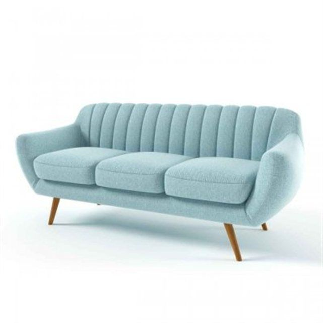 1000 ideas about canap fixe 3 places on pinterest achat canap couch and - Canape bleu conforama ...
