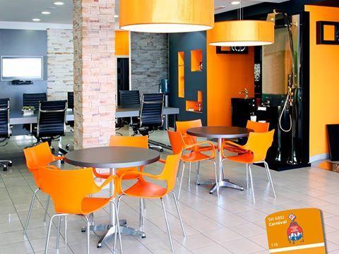 Moderne Büroräume, Kreativ Gestaltete Büroflächen, Moderne Büros, Büro  Design, Büro Ideen, Büro Eingerichtet, Startbüro, Firmenbüros, Oranges Büro