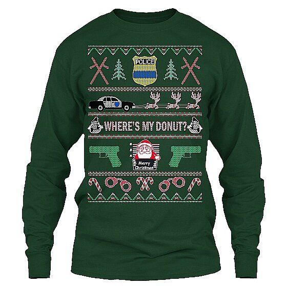 Tactical christmas sweater