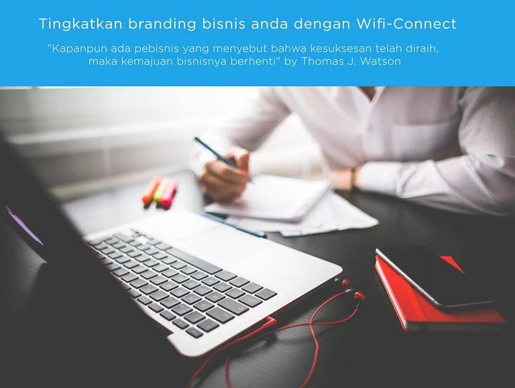Tingkatkan branding bisnis anda dengan wifi-connect #wificonnect #wificaffeine #wifimarketing