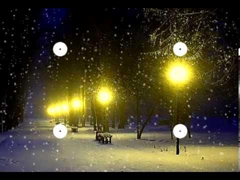 "Волшебная музыка зимы. ""Падал снег"" Music Sergey Chekalin. Very beautiful music! - YouTube"