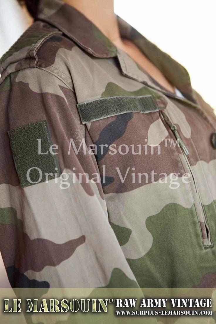 veste camouflage mode femme armee francaise