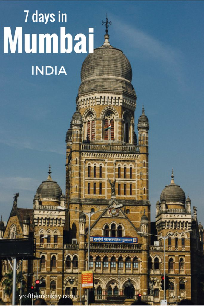 Traveling to Mumbai, India for the first time? Read this terrific guide to 7 days in Mumbai to plan for your India travel. Has major Mumbai sightseeing and attractions listed. Pin it to your India board for reference. #mumbai #india #indiatravel #bollywood