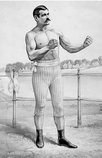Who could whip your butt? John L. Sullivan could.