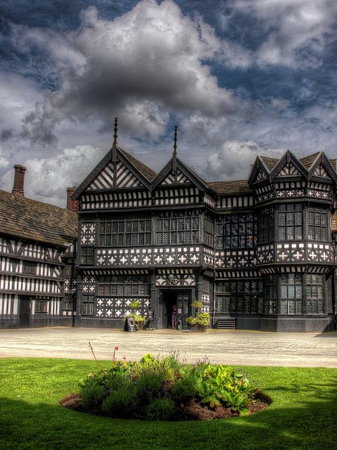 Bramall Hall in Stockport, Greater Manchester, England