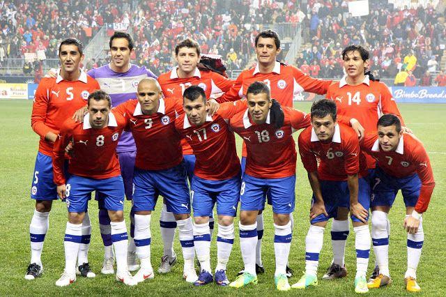 Pin En Seleccion Chilena De Futbol