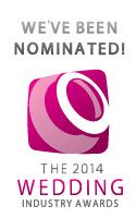 Whoop whoop - we've been nominated for Wedding Venue of the Year
