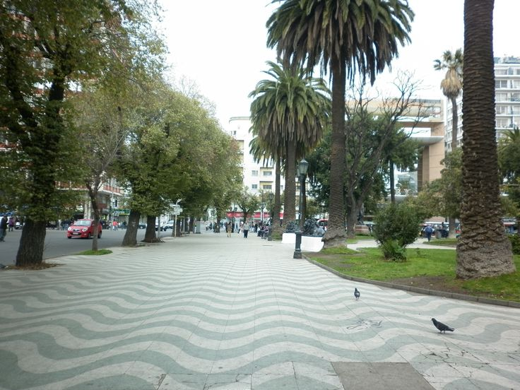Plaza Victoria,Valparaíso, Chile