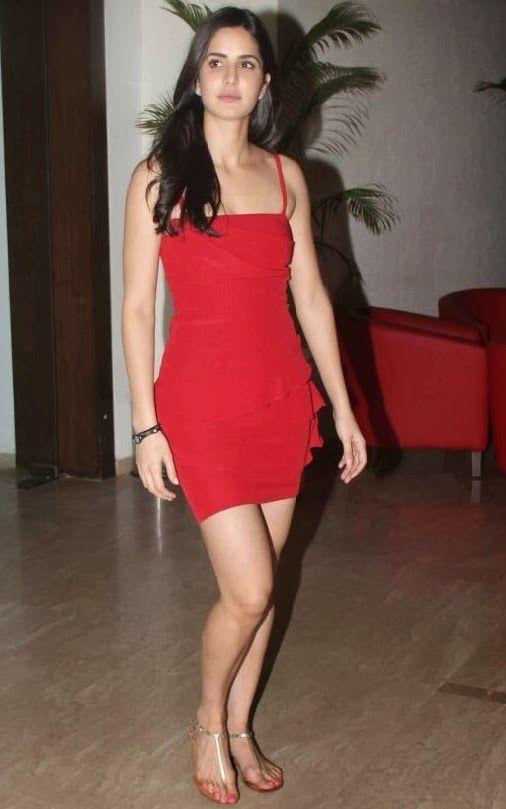Katrina Kaif | Red dress, Dresses, Katrina kaif photo