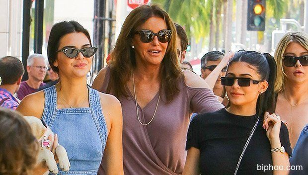 Kendall & Kylie Jenner Celebrate Father's Day With Dad Caitlyn In LA — Pics