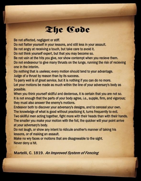 The Code by Martelli.