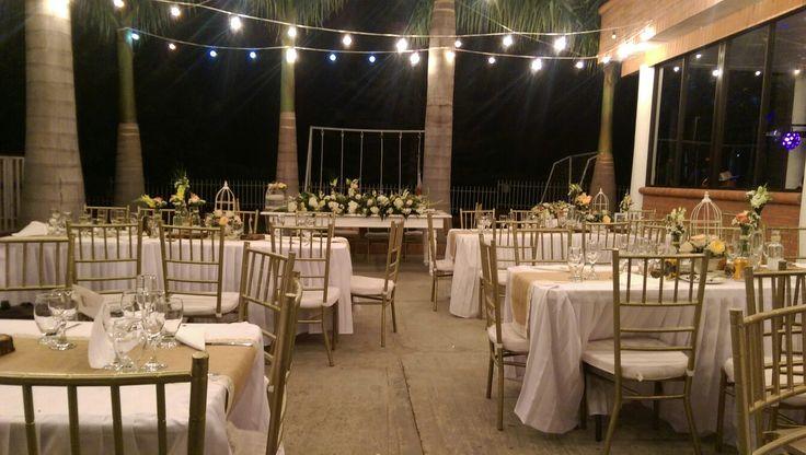 Vintage wedding night... Ligts...